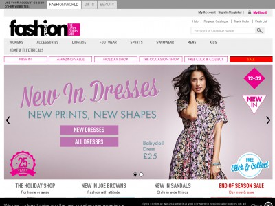 Fashion World Codes Up To 75 Off