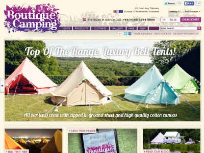 Boutique Camping