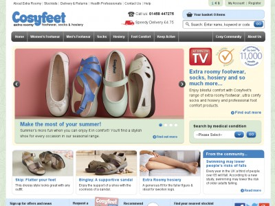 Cosyfeet Coupons & Discount Codes. Cosyfeet are designed to be the most comfortable footwear available for anyone – both women and men, with swollen or extra wide feet. Over 11, health care professionals recommend them, so a great number of people are trying to .