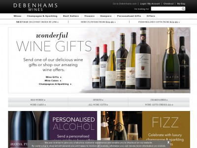 Debenhams Wines