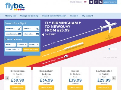 This page contains a list of all current Flybe coupon codes that have recently been submitted, tweeted, or voted working by the community.