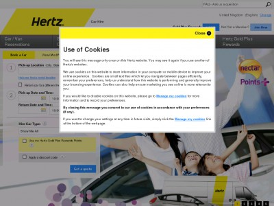 Discount coupons hertz 2019 uk