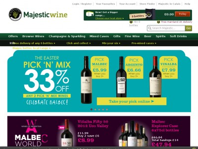 Jan 10,  · With a Majestic Wine promo code you can enjoy fantastic savings on your choice of whites, reds or mixed cases. So whether you're crazy for Chianti or mad about Merlot, a Majestic Wine discount code will help you taste the best for less.