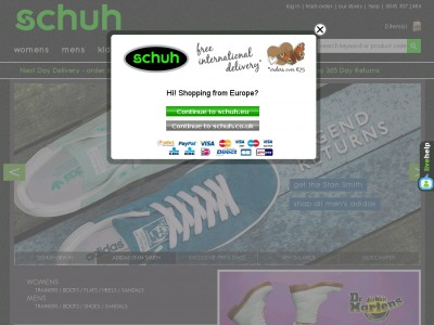 Schuh Discount Codes Active quidrizanon.ga Promo Code for December, Updated Daily. 10% Off. % success! Did this code work? Online. get 10% off certain purchase at schuh. Expires: Tonight! used today; Reveal Code. Details: 10% off at Schuh. Exclusions may apply. View terms.
