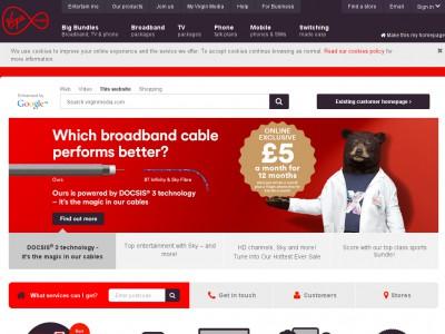 Virgin Media discounts, voucher codes - september 2019