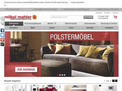 m bel mahler gutschein juli 2018 5 gutscheincode. Black Bedroom Furniture Sets. Home Design Ideas