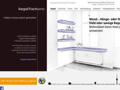 regaltischlerei gutschein juli 2018 gutscheincode. Black Bedroom Furniture Sets. Home Design Ideas