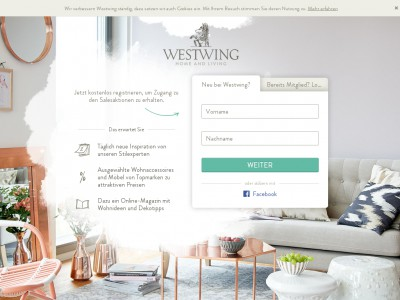 westwing gutschein november 2018 70 gutscheincode. Black Bedroom Furniture Sets. Home Design Ideas