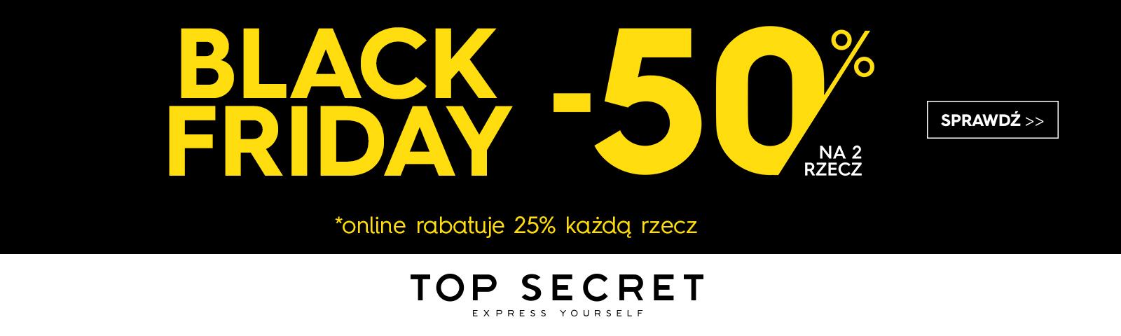 Top Secret kody rabatowe
