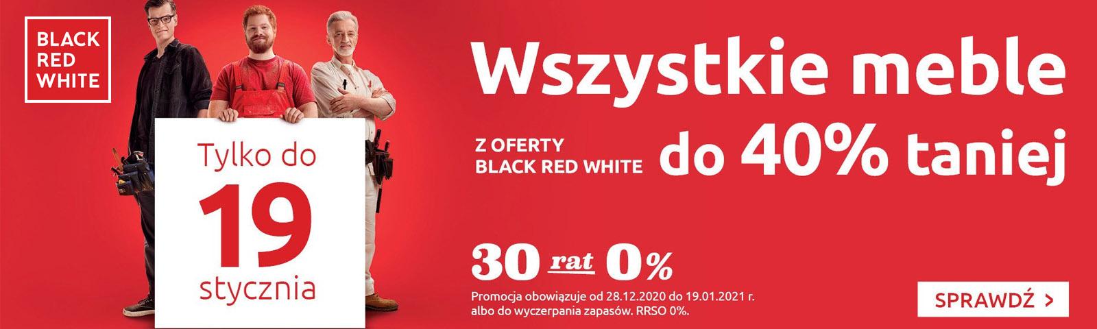 Black Red White kupony rabatowe