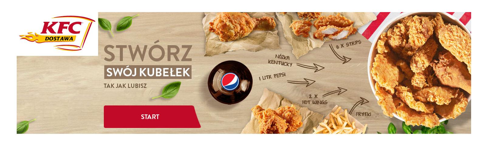 KFC dostawa kupony rabatowe