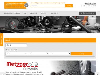 Części samochodowe online