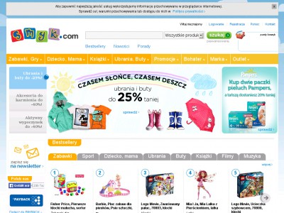 dcff51d1403b1b Smyk sklep internetowy, lipiec 2019. tutaj www.smyk.com zrobisz zakupy  online.