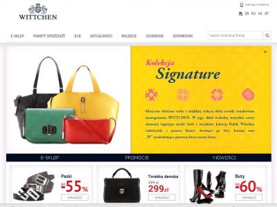 153e362c6ec67 Wittchen sklep internetowy, czerwiec 2019. tutaj www.wittchen.com/pl  zrobisz zakupy online.